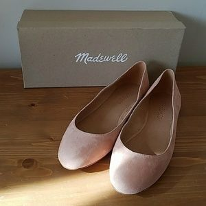 NWT Finch Suede Ballet in Dusty Clay